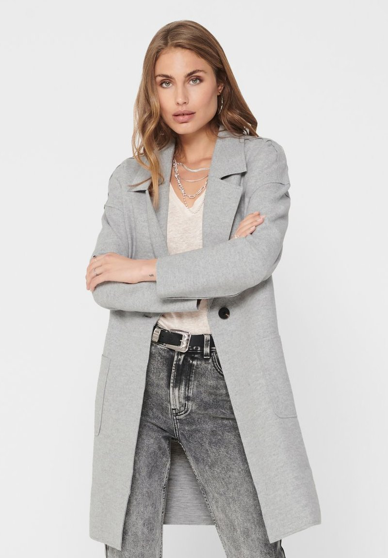 ONLY - Manteau court - medium grey melange