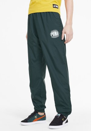 X THE HUNDREDS - Tracksuit bottoms - ponderosa pine