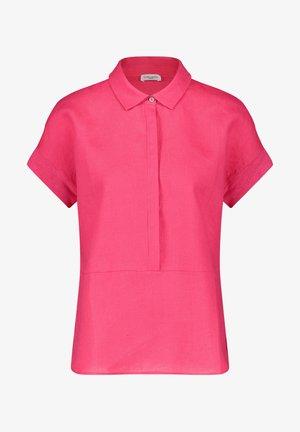 Polo shirt - rasberry