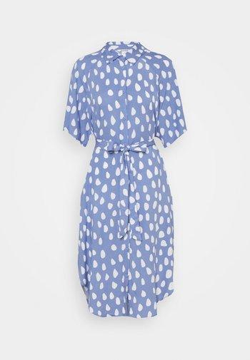 Skjortekjole - blue/white