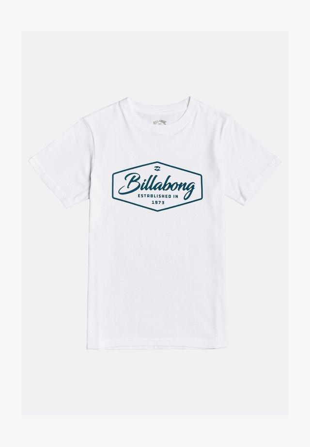TRADEMARK - T-shirt print - white