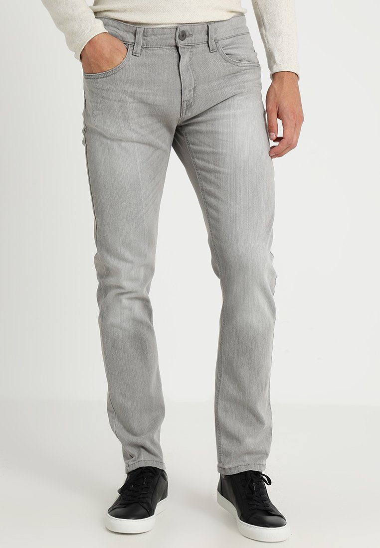 INDICODE JEANS - TONY - Jeans slim fit - light grey
