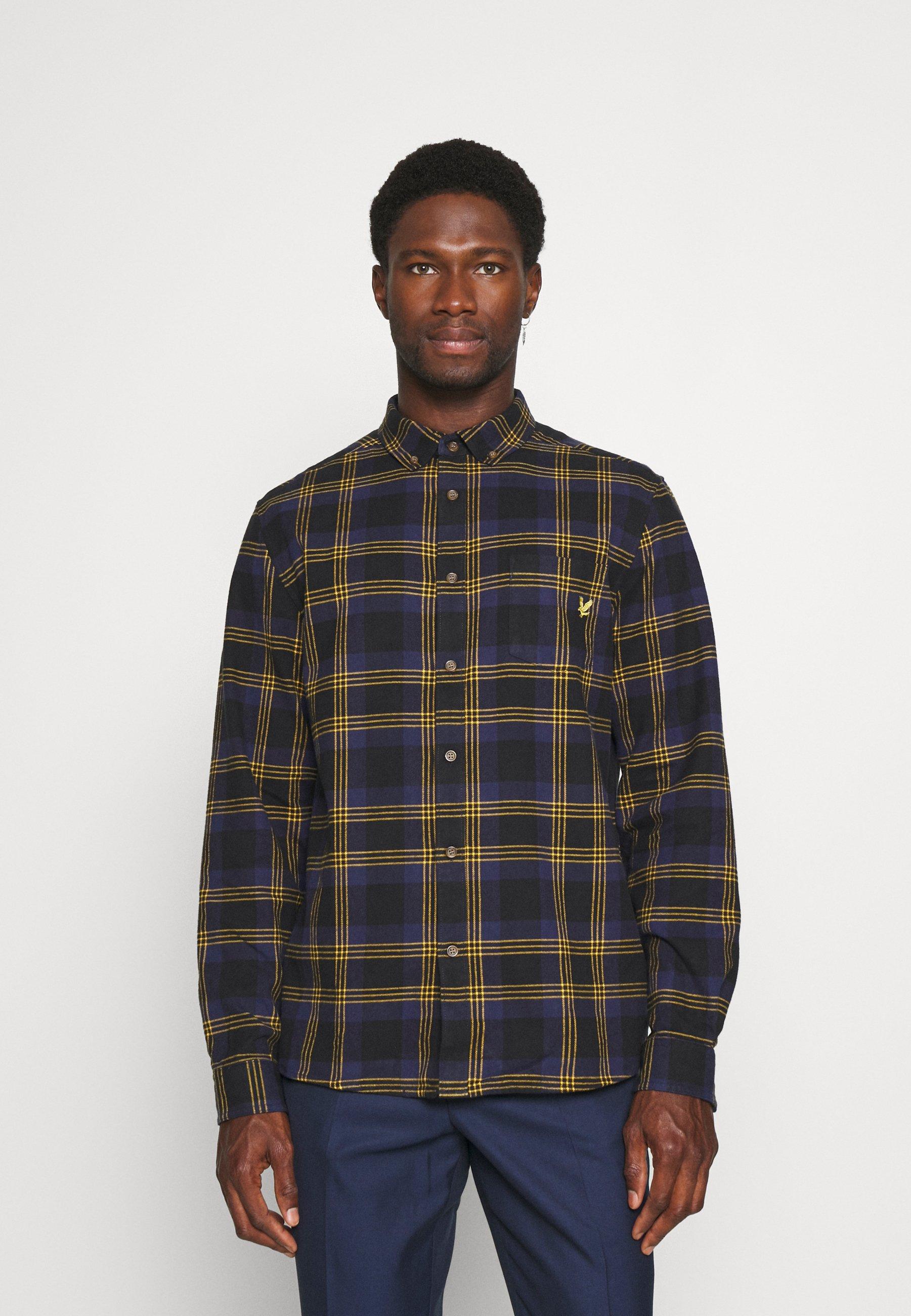 Men BRUSHED CHECK SHIRT - Shirt