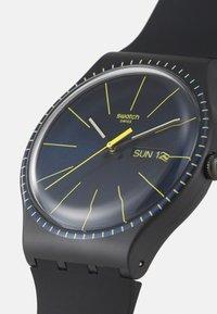 Swatch - BLACK RAILS - Reloj - black - 3