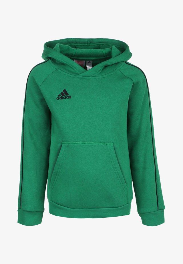 CORE 18 KAPUZENPULLOVER KINDER - Jersey con capucha - bright green