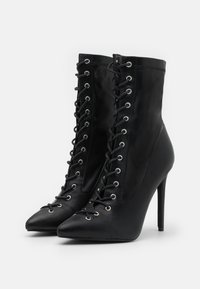 BEBO - GLOSS - Lace-up ankle boots - black - 2