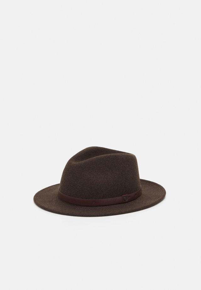 MESSER FEDORA - Klobouk - heather brown