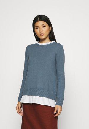 2 IN 1 - Svetr - grey blue