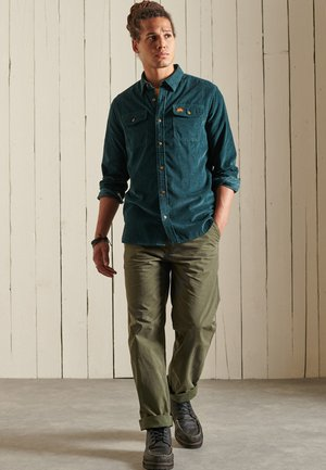 TRAILSMAN CORD - Shirt - dark enamel green
