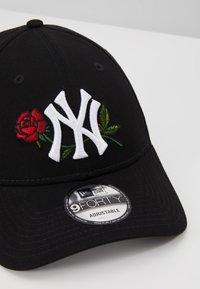 New Era - MENS TWINE MLB 9FORTY - Kšiltovka - black - 7