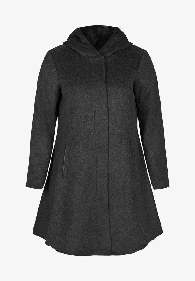 Pitkä takki - dark grey