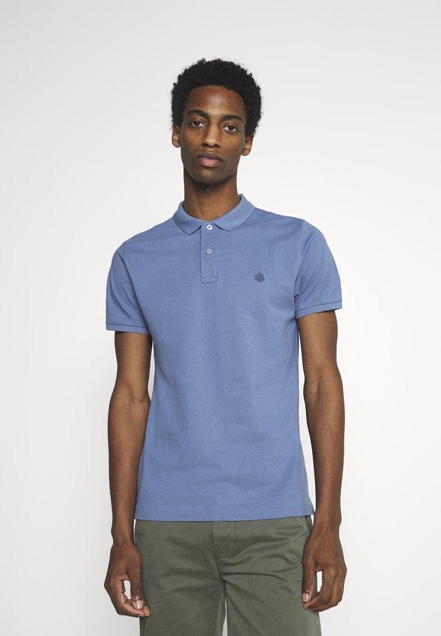 BASIC SLIM - Poloshirt - medium blue