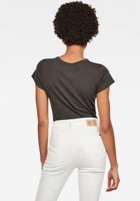 G-Star - EYBEN GRAW FOIL - T-shirt basic - asfalt - 1
