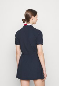 Tommy Jeans - FLARED FLAG DRESS - Day dress - twilight navy - 2