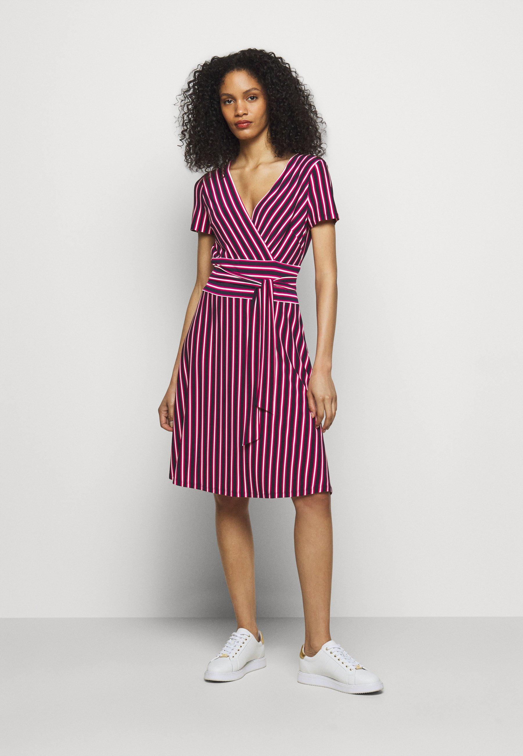 Damen PRINTED MATTE DRESS - Jerseykleid