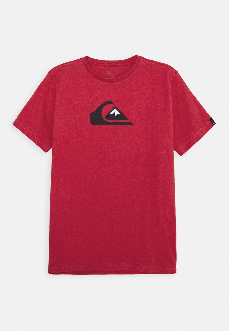 Quiksilver - SCREEN TEE - Print T-shirt - american red