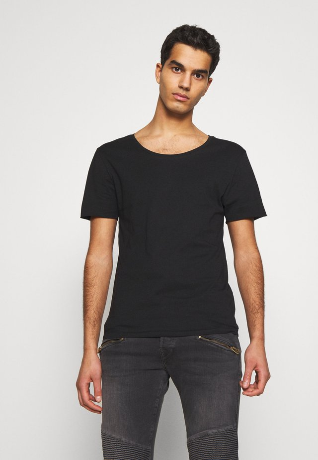 ERIK TEE - T-shirt basic - black