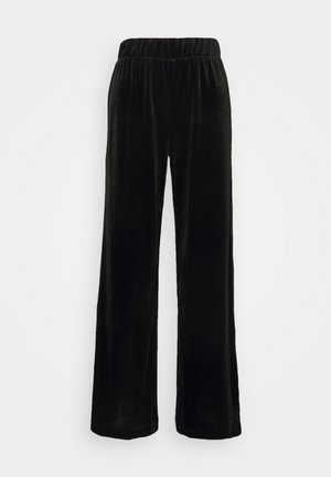 CLEO PARTY TROUSERS - Bukse - black dark