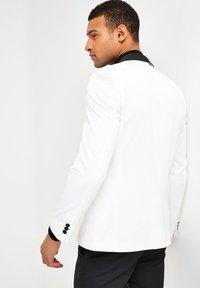 Next - SLIM FIT - Giacca elegante - white - 2