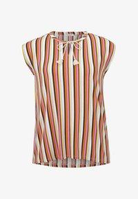 MY TRUE ME TOM TAILOR - Print T-shirt - mutlicolor stripe - 4