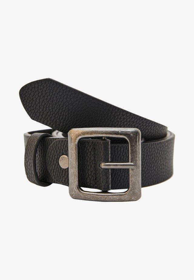 Pásek - mottled black