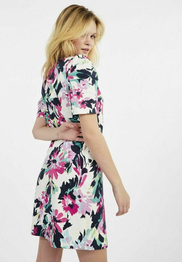 Korte jurk - multicouleurs