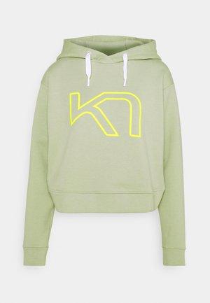 VERO HOOD - Sweatshirt - slate