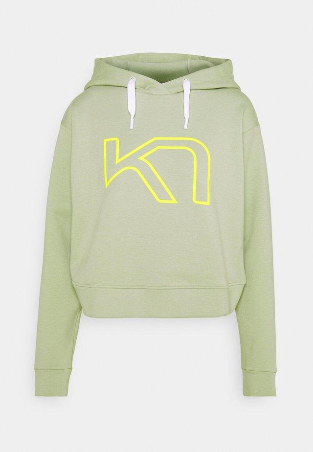 VERO HOOD - Sweater - slate