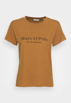 SHORT SLEEVE ROUND NECK PLACED - T-shirt imprimé - golden hour