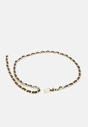 ONLEYA CHAIN BELT - Belt - black/gold-coloured