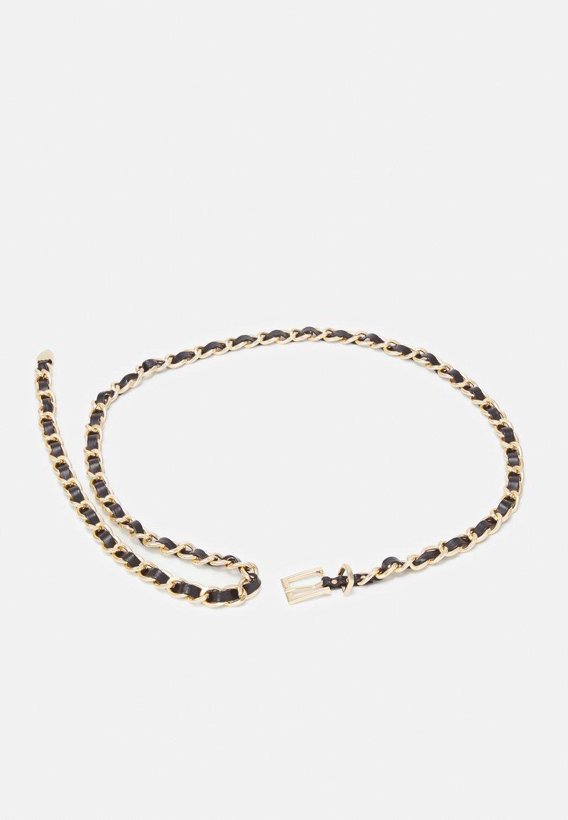 ONLY - ONLEYA CHAIN BELT - Belte - black/gold-coloured