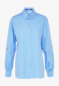 KARL LAGERFELD - POPLIN CUT OUT - Camisa - light blue - 3