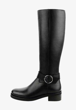 ZUNGOLI - Vysoká obuv - black