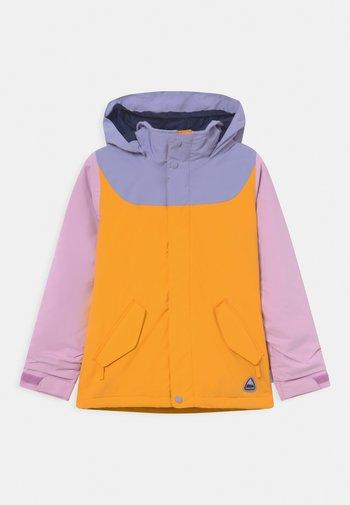 GIRLS ELODIE - Snowboard jacket - orchid bouquet/foxglove violet/cadmium yellow