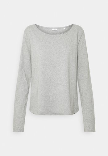 LONGSLEEVE CREWNECK - Long sleeved top - grey melange