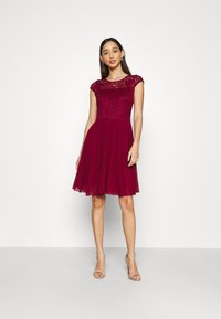 WAL G. - PEYTON SKATER DRESS - Cocktail dress / Party dress - wine - 1