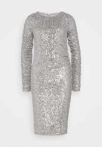 Patrizia Pepe - ABITO DRESS - Cocktail dress / Party dress - silver - 0