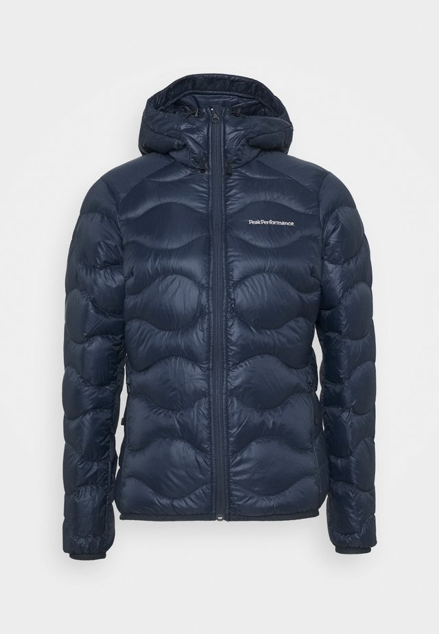 HELIUM HOOD JACKET - Down jacket - blue shadow
