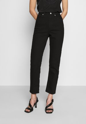 DEENA - Jeans straight leg - black
