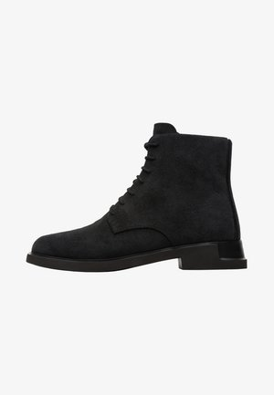 IMAN - Lace-up ankle boots - black