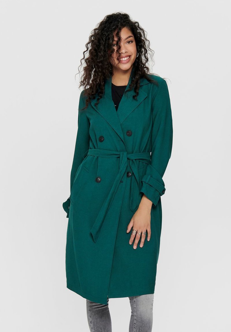 JDY - JDYARYA - Trench - deep teal