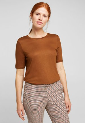 Basic T-shirt - toffee