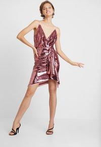 TFNC - RICKI DRESS - Juhlamekko - pink - 2