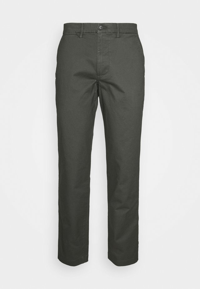 ESSENTIAL  - Trousers - soft black