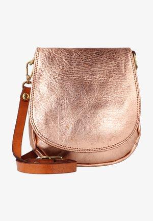 Across body bag - cipria t/cognac
