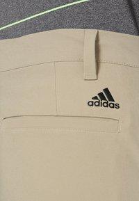 adidas Golf - SHORT - Träningsshorts - raw gold - 3
