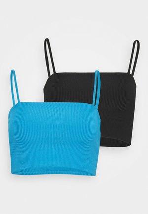 2 PACK - Top - blue bright/black