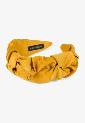 MIT SCHIMMERNDER GEFLOCHTENER OBERFL - Hair styling accessory - curry