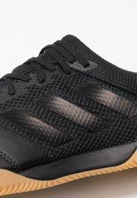 adidas Performance - COPA 19.3 IN SALA - Botas de fútbol sin tacos - core black - 5