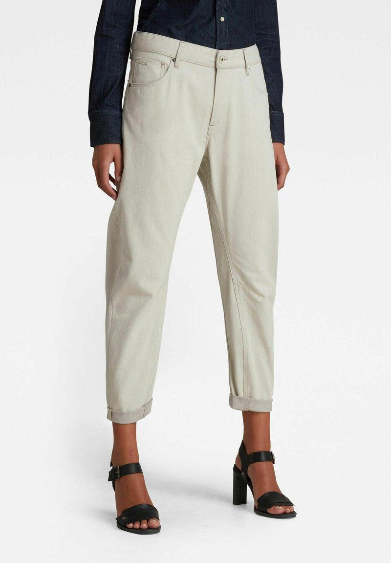 G-Star - ARC 3D BOYFRIEND - Relaxed fit jeans - ecru